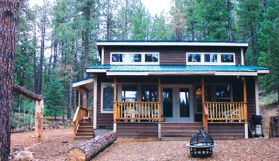 vrbo cabin to private on cabins rustic prescott sparkling close acreage clean remodeled