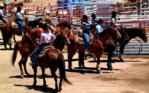 Photo taken from Rodeo grounds